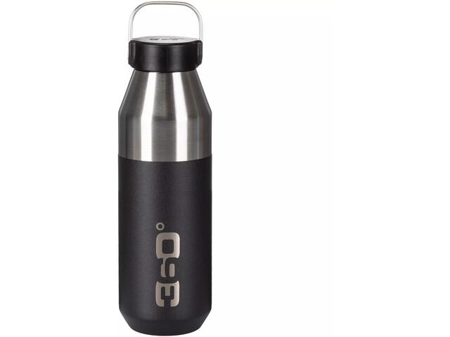 360° degrees Vacuum Narrow Mouth Bottle 750ml black
